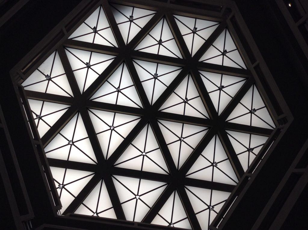 Lucernario hexagonal